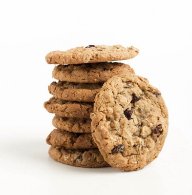 Oatmeal and raisin cookies - 12 pack