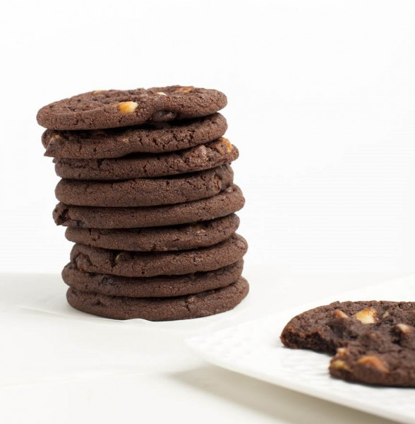 Cookies - double chocolate chip - 12 pack